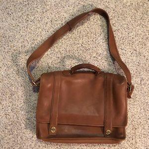 Vintage Coach Leather Briefcase